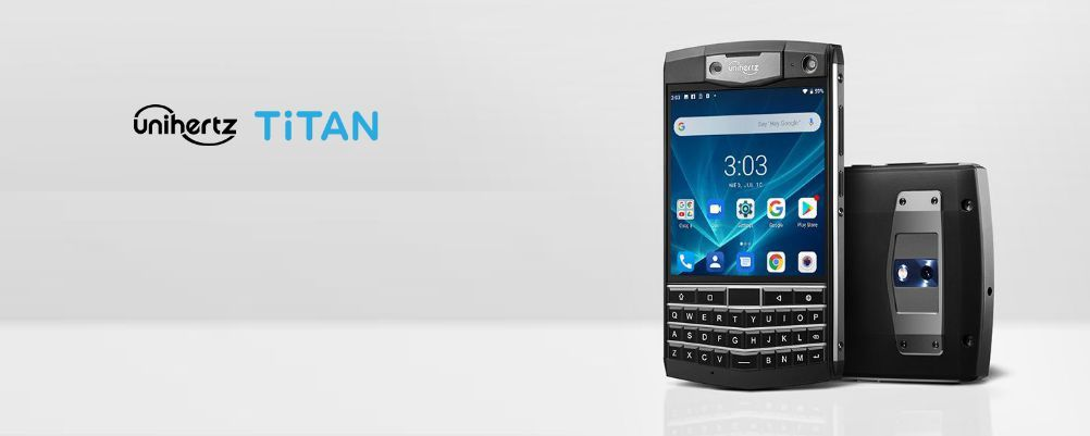 Ecco l'Unihertz Titan: uno smartphone stiloso come un BlackBerry, ma rugged
