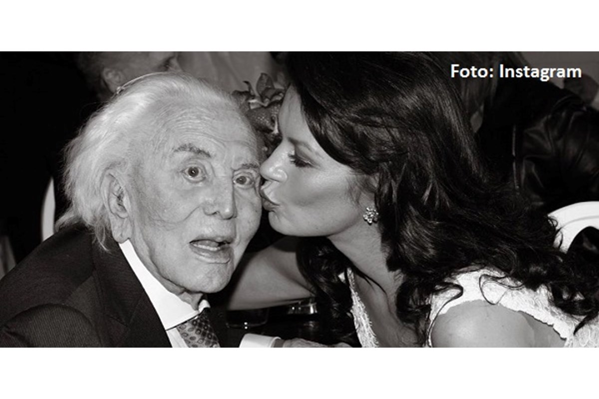 Morto Kirk Douglas: il dolore di Catherine Zeta-Jones su Instagram