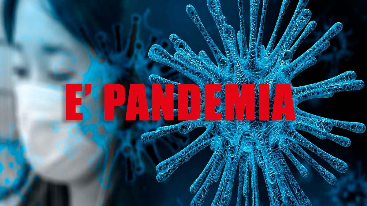 Coronavirus, l'Organizzazione mondiale della Sanità dichiara la PANDEMIA