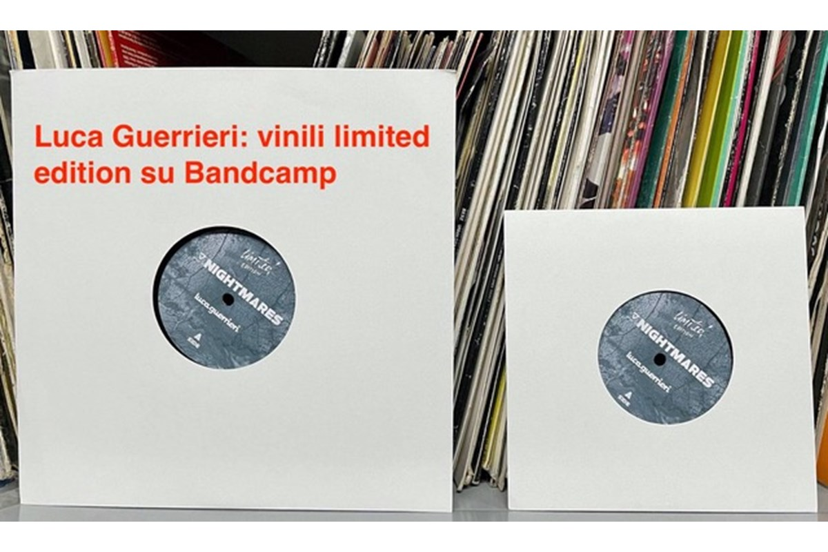 Luca Guerrieri: vinili limited edition su Bandcamp
