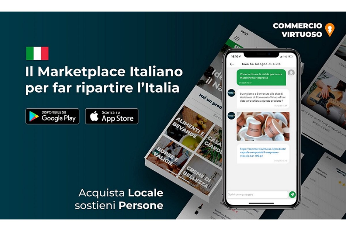 Milazzo (ME) - Commercio Virtuoso lancia l'App per dispositivi Apple e Android