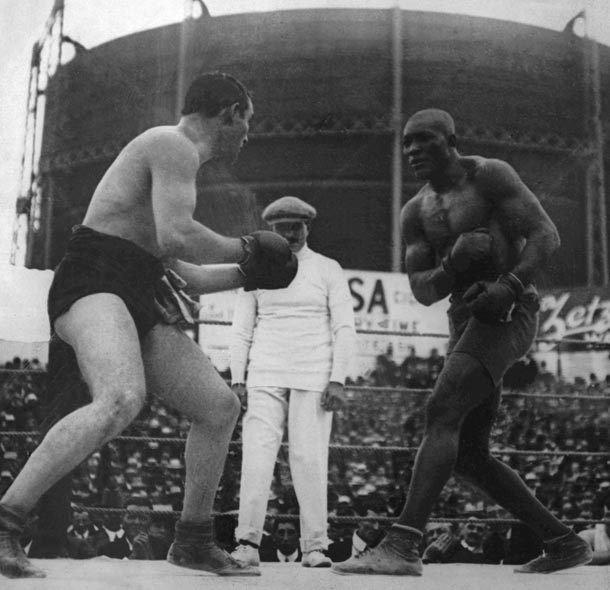 26 dicembre 1908: Jack Johnson diventa il primo campione dei pesi massimi afroamericano