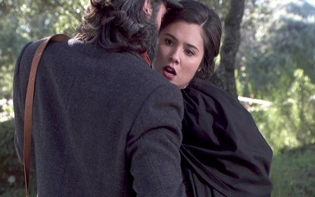 Severiano cerca di uccidere Maria, ma il suo piano non va in porto