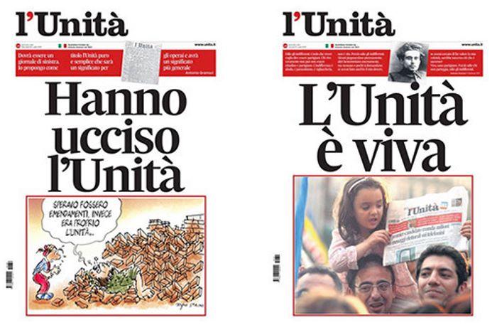 Il gruppo Pessina diventa proprietario al 99% de l'Unità