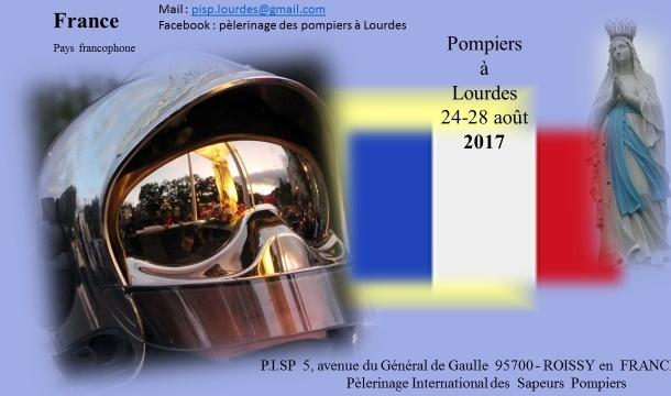 #Lourdes 3ème Pèlerinage des Sapeurspompiers