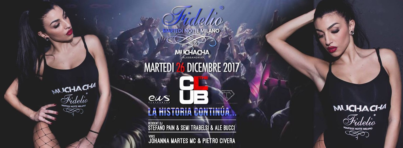 26 dicembre, Fidelio Milano @ The Club Christmas Party