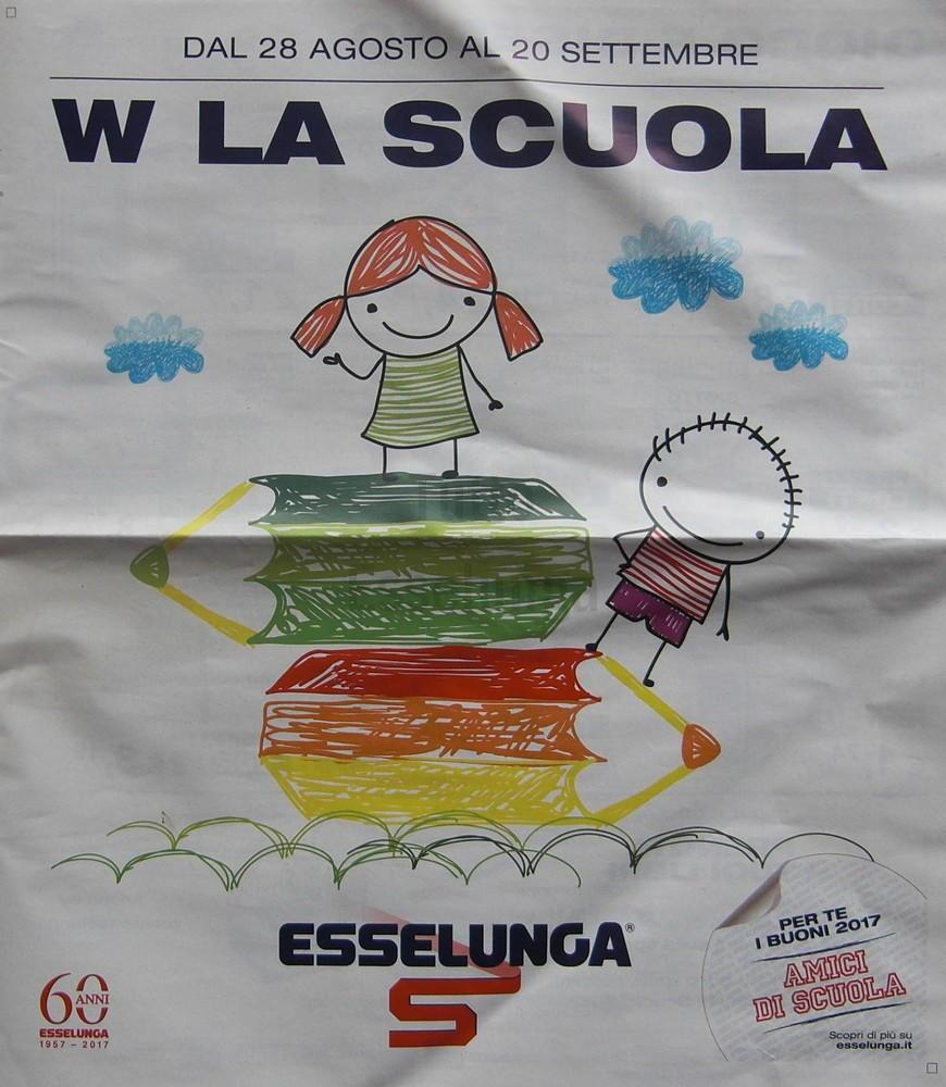 È online il nuovo volantino Esselunga dedicato alla scuola!