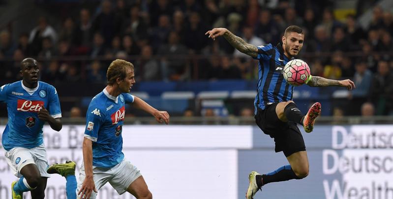 Inter, Icardi e Brozovic asfaltano il Napoli: La Roma è ora + 3