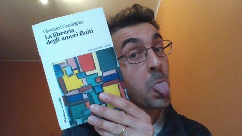 La libreria degli amori finiti di Giovanni Casalegno
