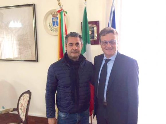 Il castelvetranese Giosi Zito sul set del film su Giuliano