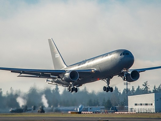 US Air Force's Boeing KC-46A Pegasus concludes first airborne test | Aviation