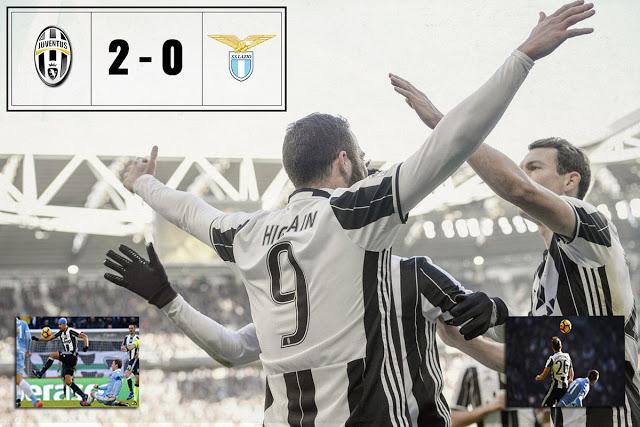 Calcio. Serie A Tim. Juve - Lazio 2:0. Pratica chiusa in 5 minuti per i bianconeri.