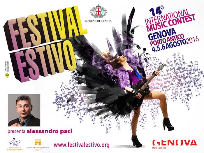 Torna il FESTIVAL ESTIVO: nuova location e grandi premi per l'edizione 2016