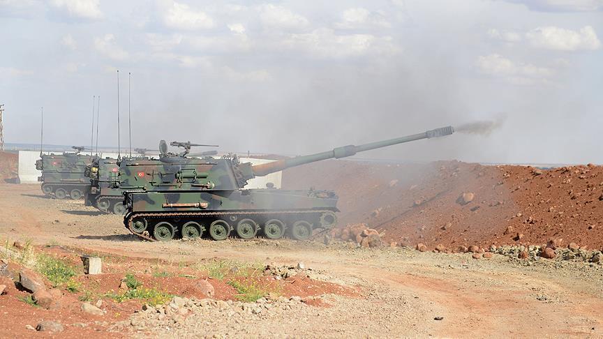 Turchia: Artiglieria turca uccide 104 terroristi Daesh in Siria » Guerre nel Mondo