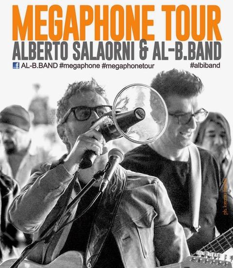 Alberto Salaorni @ Al-B.Band: ad agosto Megaphone Tour tra Garda, Verona e l'Isola D'Elba