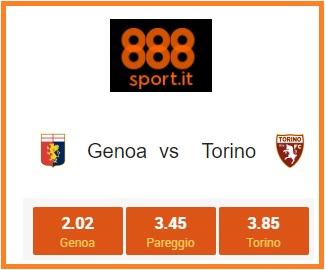Serie A, Genoa-Torino: 8 scommettitori su 10 puntano sull'«1»