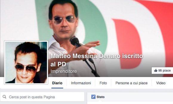 Pagina su Messina Denaro, facebook ignora le segnalazioni