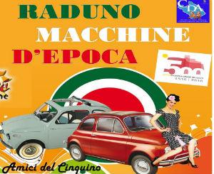 Castellammare del Golfo: raduno vecchie Fiat 500 per i 500 anni dalla fondazione della città