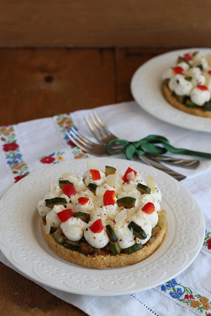 Cheesecake aux courgettes sans gluten
