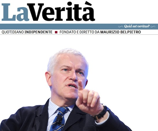 Lettera a Maurizio Belpietro