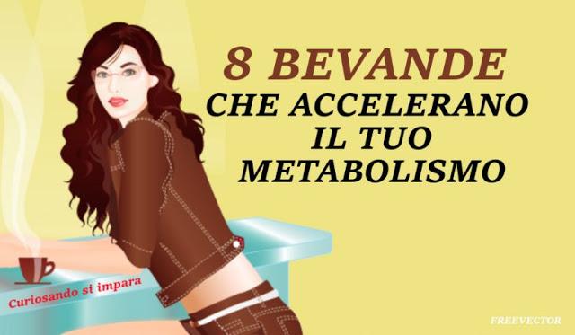 8 bevande naturali che accelerano il tuo metabolismo e tonificano la tua figura