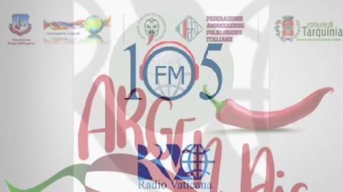 ArgenPic a Radio Vaticana Italia 105. Pietro Carra dell'Associazione Oltrepensiero ai microfoni di Mara Miceli