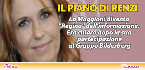 Monica Maggioni il prossimo 8 ottobre sarà nominata Presidente della Trilateral Italia