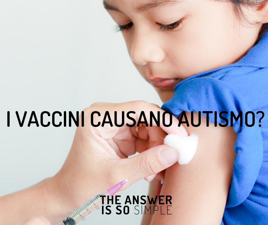 I vaccini causano autismo? Scopri la verità!