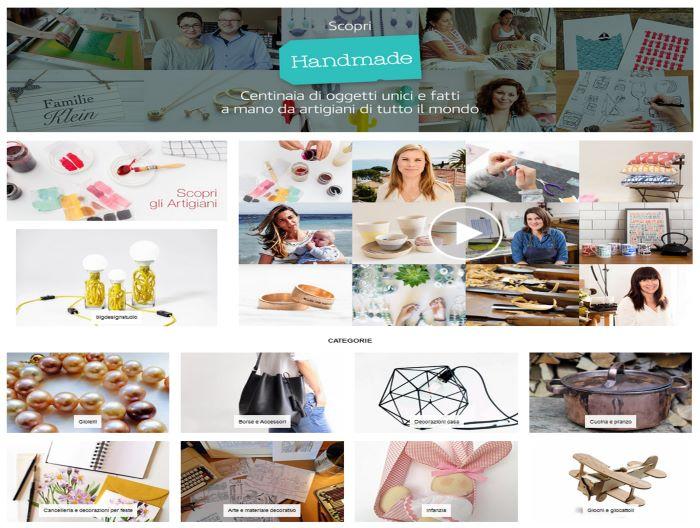 Amazon Handmade aiuta i piccoli artigiani italiani ed europei a vendere in tutto il mondo