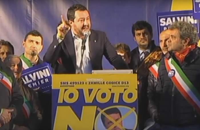 La Lega a Firenze per dire No alla nuova Costituzione e, soprattutto, per sfiduciare Renzi