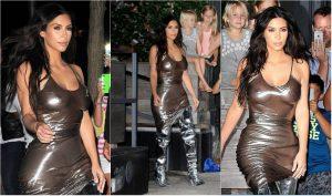 Kim Kardashian: sexy e trasparente, ma il look scivola nel trash [FOTO]