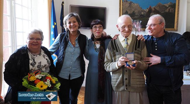 Remise de la Médaille de la Ville à José Bailleul