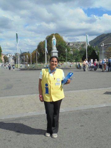#Lourdes – Una giornata al servizio pilota
