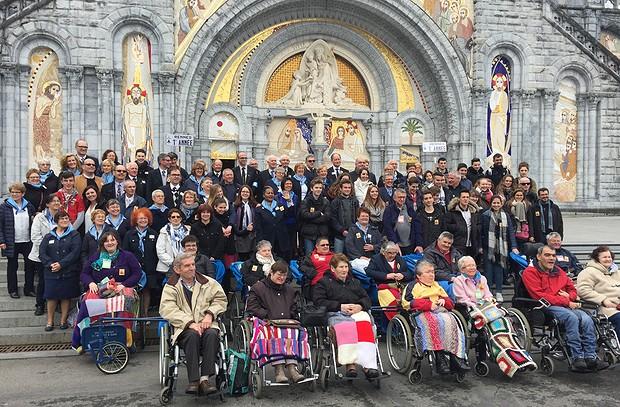 Diocese de Rennes samedi à #Lourdes