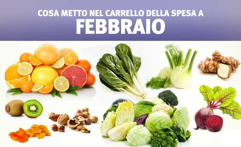 Febbraio: una raccolta di ricette con verdura e frutta di stagione