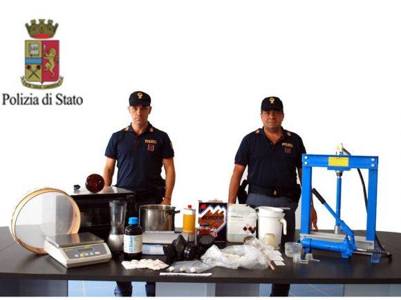 Usava la propria abitazione come laboratorio per cocaina – Polizia arresta 23enne di Castelvetrano