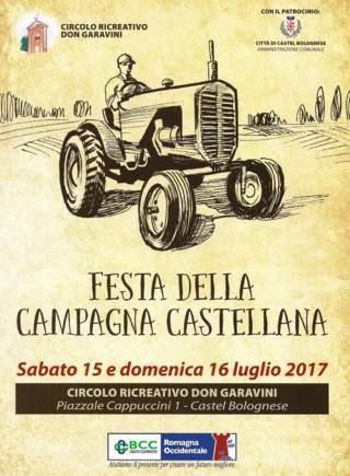 Festa della campagna castellana, 15 e 16 luglio al circolo Don Garavini