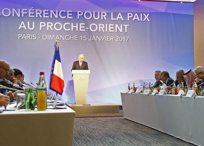 La Conferenza di Parigi ribadisce la soluzione a due Stati per la pace tra israeliani e palestinesi