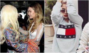 Gigi Hadid ormai è una stilista: Lady Gaga indossa i suoi occhiali