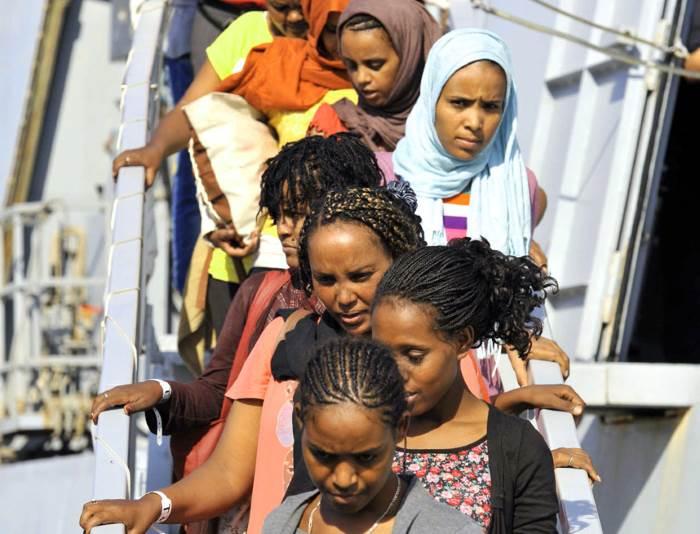 Diminuito drasticamente, a partire dal mese di luglio, il numero dei migranti sbarcati in Italia