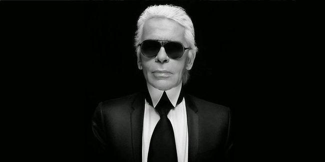 Karl Lagerfeld: protagonista di Pitti Immagine Uomo 90