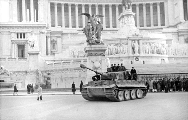 10 settembre 1943: I nazisti occupano Roma