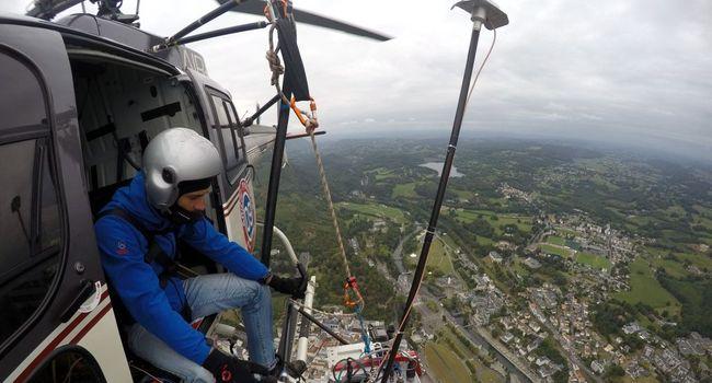 Le gave de Pau est ausculté par hélicoptère