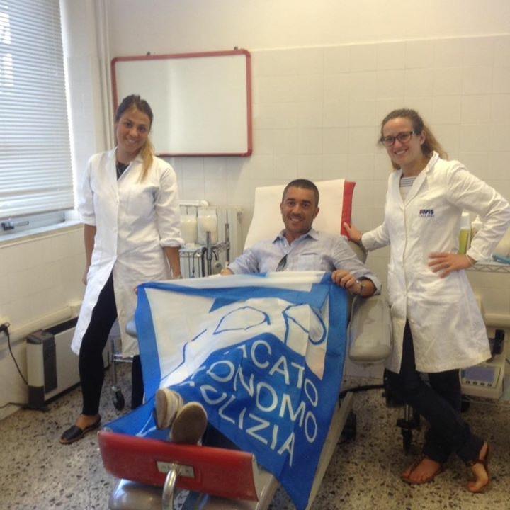 Cagliari, poliziotti donano sangue ai talassemici