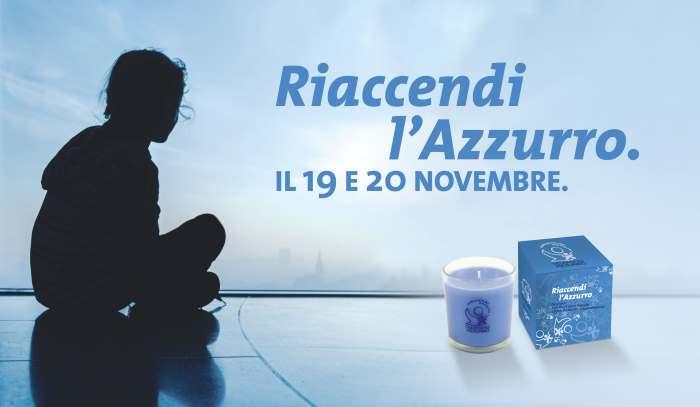 Telefono Azzurro in 700 piazze italiane per promuovere l'iniziativa Riaccendi l'Azzurro
