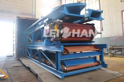 Waste Paper Recycling Chain Conveyor