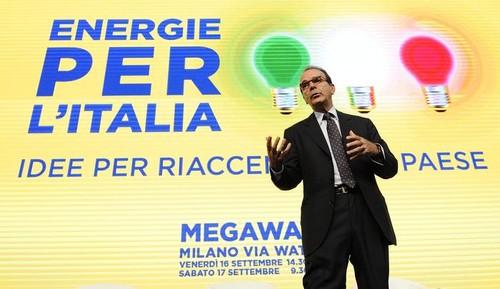 Parisi lancia Energie per l'Italia come alternativa al vecchio centrodestra