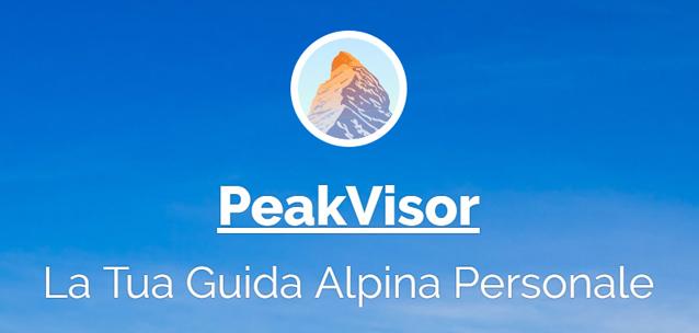 PeakVisor – scopri l'altezza e i nomi delle vette di tutto il Mondo!