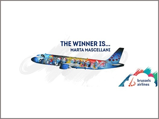 The Smurfs on Brussels Airlines fifth special livery plane | Aviation
