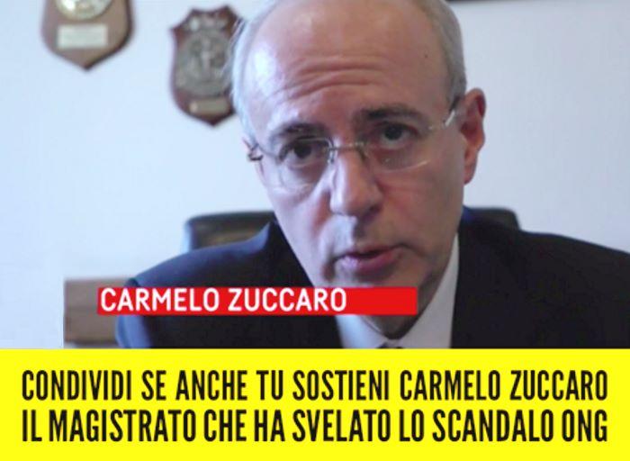 Luigi Di Maio: sosteniamo Zuccaro!